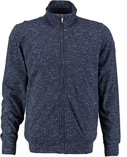 Blue fields by State of Art blauw gedeeltelijk gewatteerd sweatshirt gebreide jas