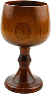 wooden chalice cup