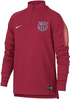 Nike 2018-2019 Barcelona Drill Training Top (Tropical Pink) - Kids