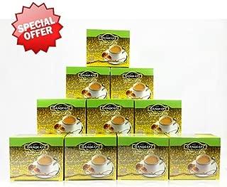 10 Boxes Ganocafe Ginseng Tongkat Ali By Gano Excel USA Inc. - 150 Sachets