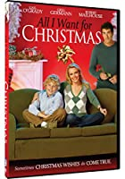 All I Want for Christmas [DVD] [Import]