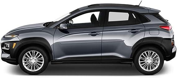 Lava Orange Pearl YR2 Dawn Enterprises FE-VENUE20 Finished End Body Side Molding Compatible with Hyundai Venue