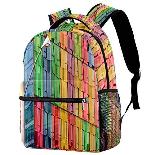 Mochila escolar de patinaje en la calle para niños, mochila de viaje, mochila informal, estampado 5 (Multicolor) - bbackpacks004