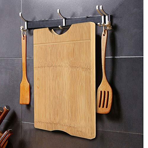 Tabla de cortar, tabla de cortar de madera maciza para el hogar, tabla de cortar a prueba de moho de cocina, tabla de cortar, 24 * 34 * 1.8cm, 28 * 38 * 1.8cm, 30 * 40 * 1.8cm, 28 * 40 * 3cm