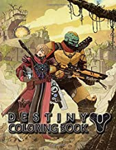 Destiny Coloring Book: Explore different Guardian weapons and armor types, and color the iconic game scenes to life