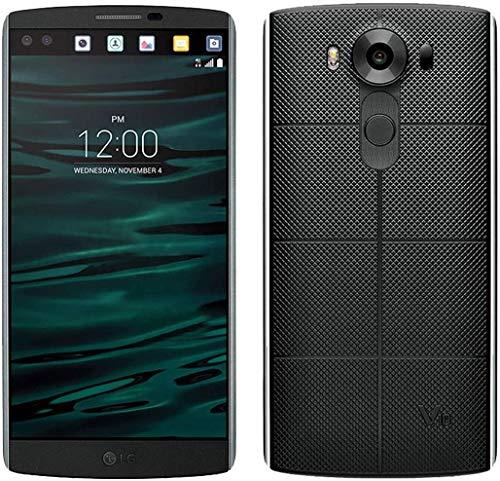 LG V10 - Smartphone (4GB RAM + 64GB ROM Hexa-Core 1.8GHz Qualcomm Snapdragon 808) Black - UK