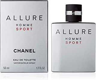 CHàNèl Allure Homme Sport Men Eau de Toilette Spray 1.7 OZ./ 50 ml.