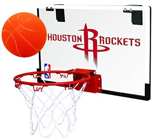 Rawlings NBA Game On PC Mini-Basketballkorb-Set, Houston Rockets