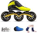 Pattini a rulli Pattinaggio di pattinaggio in linea per esterni, scarpe da pattinaggio a velocità, scarpe da corsa, pattini professionali per bambini, pattini professionali, uomini e donne pattini in