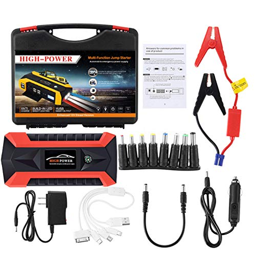 Why Choose cnnIUHA Portable Car Jump Starter Power Bank 89800mAh 12V, LCD 4 USB CarPortable Waterpro...