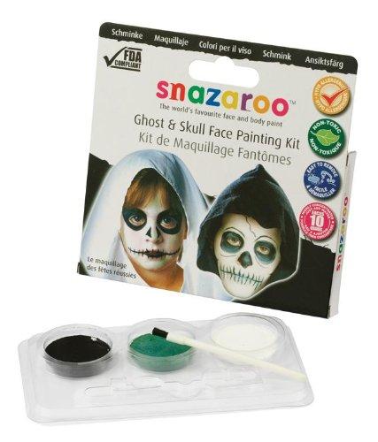 Snazaroo Geist und Schädel Schminkset (Ghost & Skull)