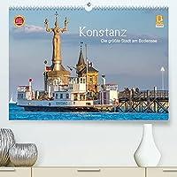Konstanz - die groesste Stadt am Bodensee (Premium, hochwertiger DIN A2 Wandkalender 2022, Kunstdruck in Hochglanz): Konstanz - die Bodensee Metropole (Monatskalender, 14 Seiten )