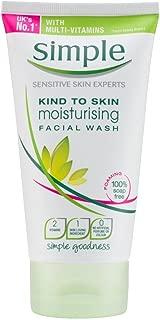 Simple Kind To Skin Facial Wash Moisturising, 150ml