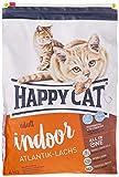 Happy Cat Cibo Secco per Gatti Ipoallergenico Fit & Well Indoor Salmon - 4000 gr