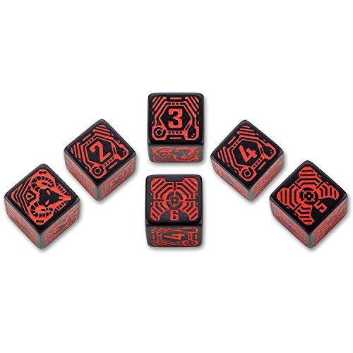 Q-Workshop QWOSDH06 - Shadowrun Street Samurai, schwarz/rot
