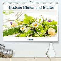essbare Blueten und Blaetter (Premium, hochwertiger DIN A2 Wandkalender 2022, Kunstdruck in Hochglanz): Tolle Wildkraeutergerichte fuer jeden Tag. (Monatskalender, 14 Seiten )