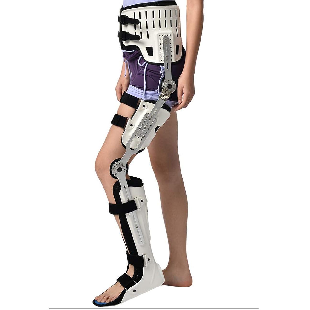 飼いならすレタスジョリー股関節外転ブレース、股関節スタビライザーコレクターサポートブレース、調節可能な太もも膝足首足装具