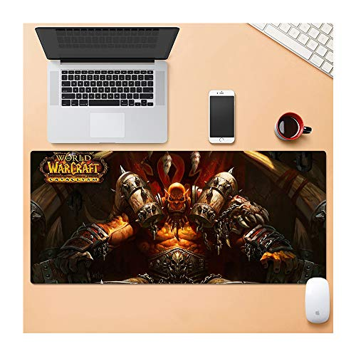 1STSPT Gaming Mousepad Notebook Pad voor Muis Pad 900 x 400 mm computer Notbook Mouse Pad HD Printer Gamer 900X400X3MM Monster-d