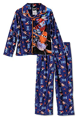 Disney Planes Let's Soar Toddler Boys Pajama Set, Size 2T Blue