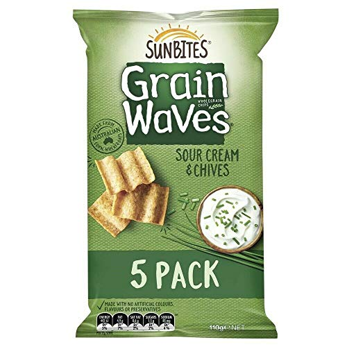GrainwavesサワークリームChives5個入りパック110g