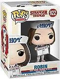 stranger things season 3 - robin vinyl figure 922 unisex funko pop! standard vinile