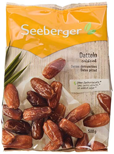 Seeberger Datteln entsteint, 7er Pack (7 x 500 g Beutel)