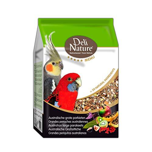 DELINATURE Mixtura para Cotorras Australianas Menú 5*, 2,5 kg, Pájaros