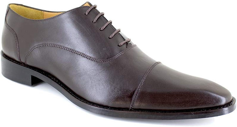 J.Bradford Richelieu Brown Leather JB-GEMINO