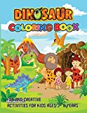 Dinosaur Coloring Book: Fun and creative Activities For Kids
