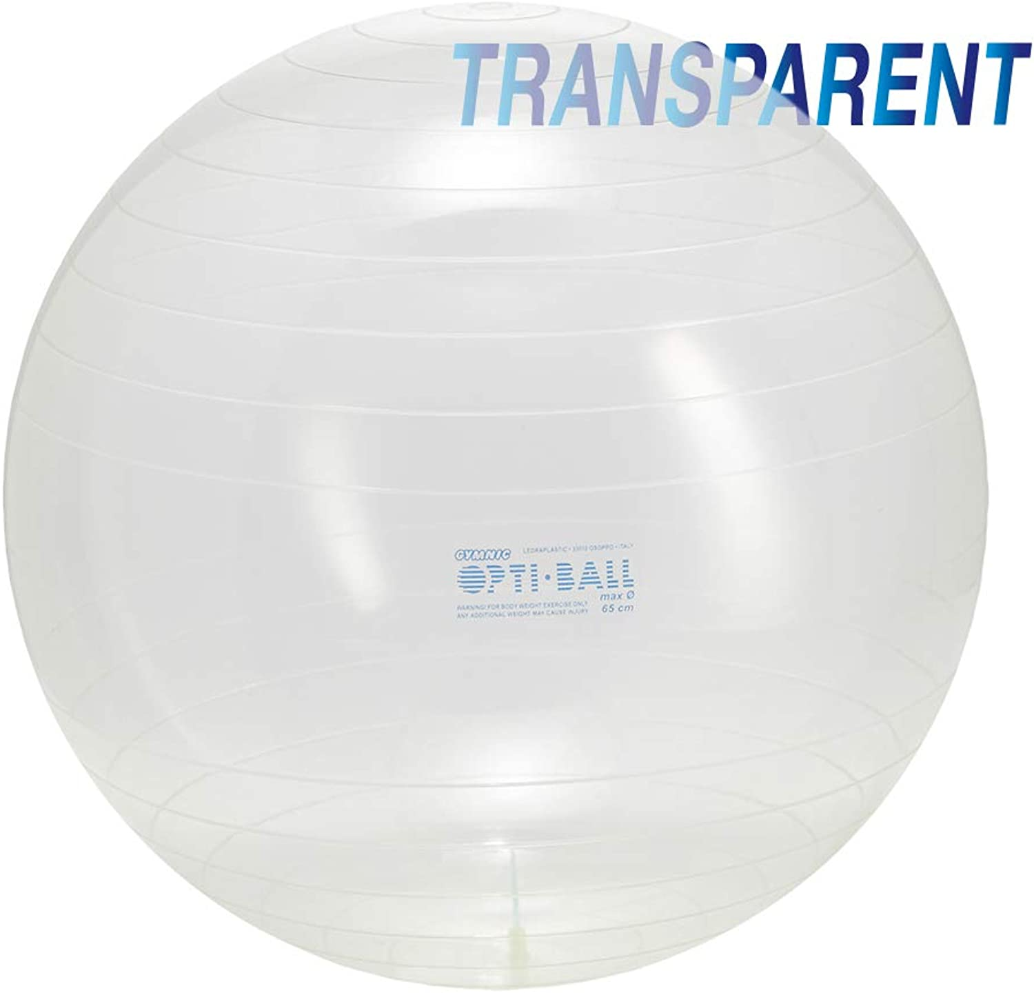 Gymnic Opti-Ball Clear Fitness Ball