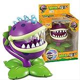 KIJIGHG Plants vs.Zombies Bite Hand Toy Figura de acción Modelo de Juego Purple Big Mouth Flower Ver...