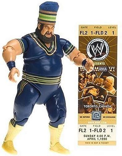 WWE Classic Superstar Collector Series  9 Akeem by Jakks Pacific