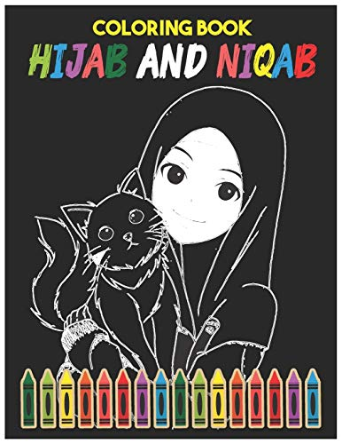 Hijab And Niqab Coloring Book: Coll…