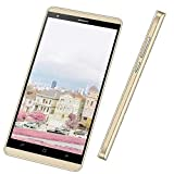 Smartphone Pas Cher 5.0 Pouces, 16Go ROM,  Android 7,0 Dual SIM Telephone 4g WiFi GPS Bluetooth 4.0 Telephone Portable...