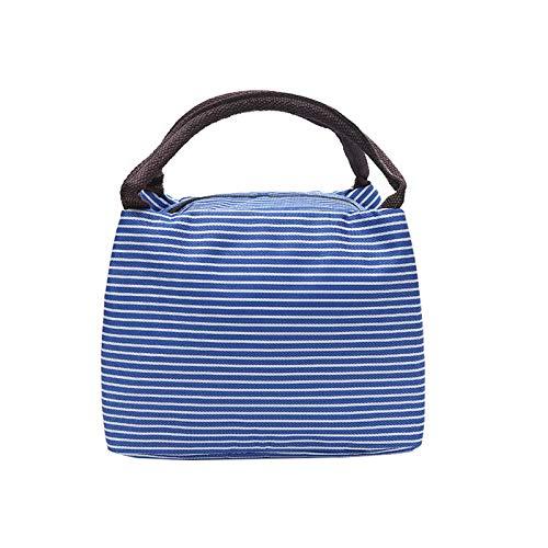 LHJJ Wiederverwendbare Isolierte Lunch-Tasche, Bento-Bag-Lunchbox, Isolierte Box-Handtasche, Arbeitspicknick Oder Reisen