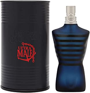 Jean Paul Gaultier Ultra Male for Men Intense Spray, Eau de Toilette, 2.5 Ounce