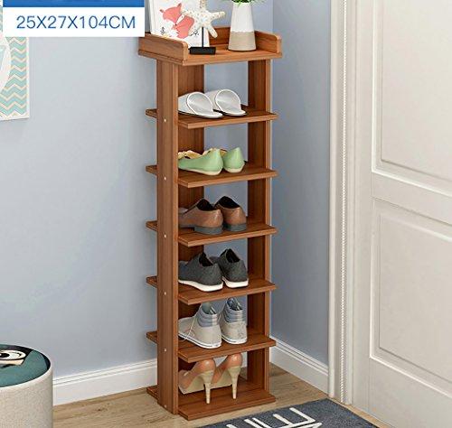 NYDZDM Support de Chaussure de Niveau de 5/6/7, Armoire de Chaussure Moderne Simple, étagère de Chaussures de Stockage antipoussière de casier d'Assemblée (Size : 104cm)