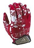 adidas FilthyQuick Digital Receiver American Football Handschuh, rot, Gr. 2XL