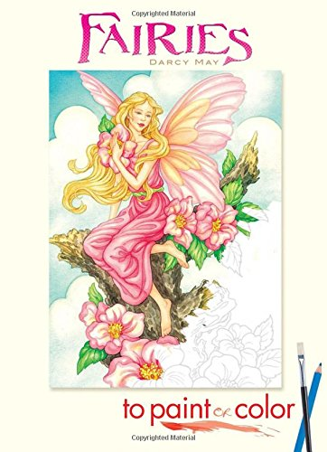 Fairies to Paint or Color (Dover Art Coloring Book)