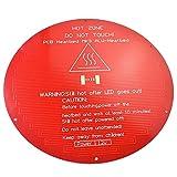 Nombre: MK3 Cama Térmica Redonda. Número de modelo: MK3 Tipo de artículo: Heatbed Voltaje: 12v