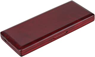 BQLZR Red Wood Bassoon Reed Box for 10 Reeds Hold or with Soft Velvet