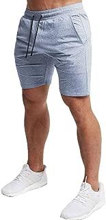 Men's Casual Training Shorts Gym Workout Fitness Short Bodybuilding Running Jogging Short Pants