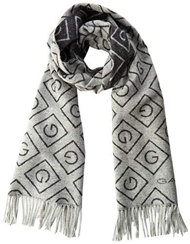 GANT Damen D1. G Wool Scarf Schal, Grau (Light Grey Melange 94), (Herstellergröße: One Size)
