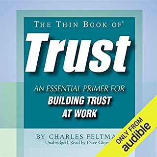The Thin Book of Trust audiobook cover art