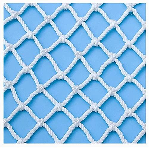 Amacthysh Kletternetz für Kinder (Frachtnetz) zum Schutz von Familienbalkonen und Geländern, Kletternetz für Baumhäuser, Spielgeräte für Kinder im Freien,1 * 2m/3.3 * 6.6ft