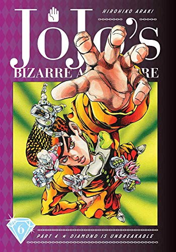 JoJo's Bizarre Adventure: Part 4--Diamond Is Unbreakable, Vol. 6 (6)