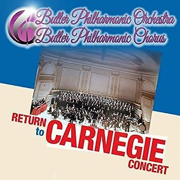 Return to Carnegie Concert