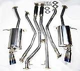 Burn Stainless Steel Full Cat Back Exhaust for BMW 335i E90 E92 E93 2007-2010