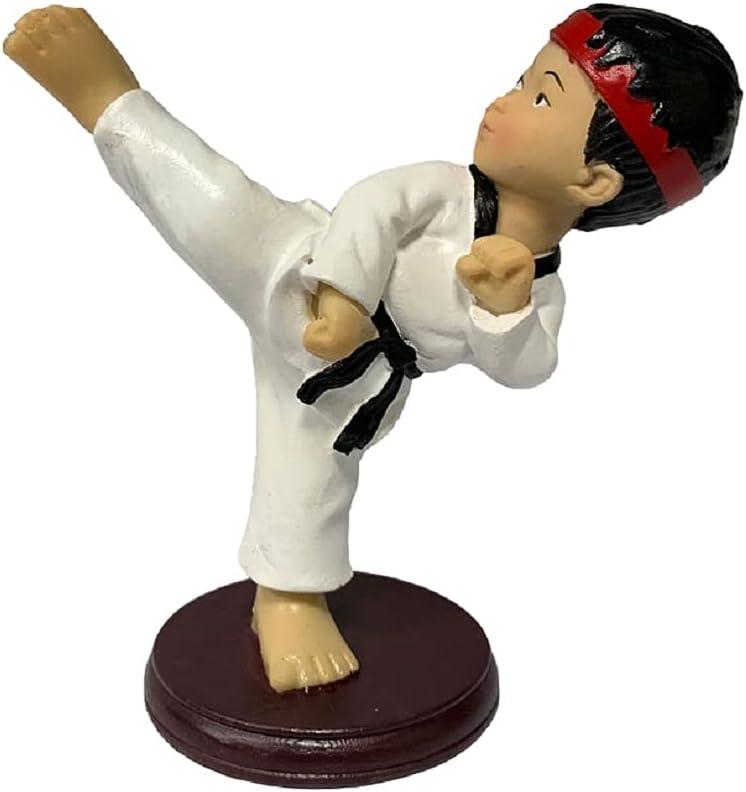 Karate Taekwondo Figurine Resin Crafts Home 5.5Inch T Decoration Rapid Surprise price rise