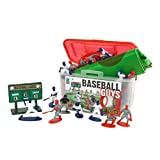 Kaskey Kids Baseball Guys - Inspires Imagination with Open-Ended Play - Includes 2 Full Teams and More - for...